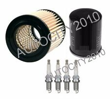 Per HONDA elemento 2.4i K24A KIT DI SERVIZIO OLIO/FILTRO ARIA & Candele Set 03-05