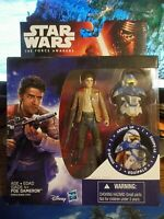 "Star Wars The Force Awakens Poe Dameron Armor Up 3.75 ""NEW""!"