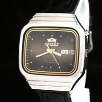 Vintage Orient Crystal AAA Stars Automatic 21J Japan Men's Wrist Watch Serviced