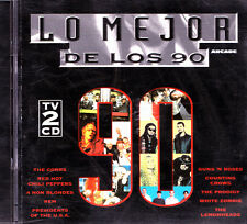 LO MEJOR DE LOS 90-GUNS N´ROSES + THE PRODIGY + RED HOT CHILI PEPPERS + REM +