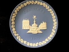 WEDGWOOD 1971 CHRISTMAS PLATE-PICCADILLY CIRCUS