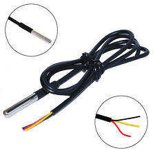 1PC DS1820 Stainless Steel Waterproof Temperature Sensor Probe 18B20 for Arduino
