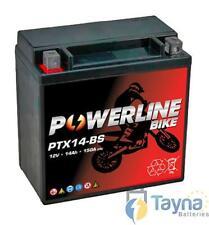 Powerline TRIUMPH 955 Sprint RS 2000-2005 Motorfiets / Motor accu YTX14-BS