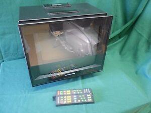 Raro TV BRIONVEGA - TOP 15 MONITOR Vintage Design BELLINI Televisore FUNZIONANTE