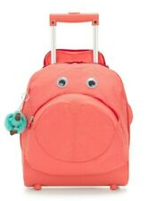 Kipling BIG WHEELY Wheeled School Bag - Peachy Pink Combo