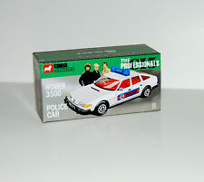 DISPLAY BOX FOR CORGI JUNIORS ROVER POLICE CAR THE PROFESSIONALS - FREE UK POST