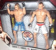 Jakks MMA UFC Ultimate FIGHT Series 1 -2 PACK LIDDELL SILVA Figure TUF 10 ZUFFA
