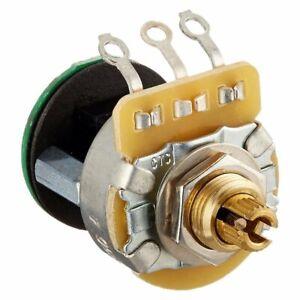 Fender 250K Split Shaft S-1 Switch Potentiometer 0061256049