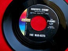 MAR-KETS~SURFER'S STOMP~NEAR MINT~START~LIBERTY 55401~ INSTRUMENTAL 45