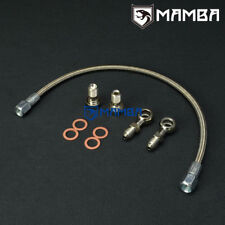 MAMBA Turbo Oil Feed Line Kit For Nissan MR16DDT TF035 TD04L TIIDA JUKE PULSAR