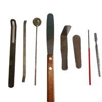 Saxophone Woodwind Instrument Repair Tool kit part for pad Iron 8pcs 2021 NEW
