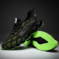 Mens Blade Black Tech Sports Shoes Classics Sneakers Outdoor Breathable Athletic