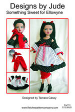 Something Sweet Doll Clothes Sewing Pattern Ellowyne Wilde Tonner