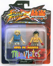 Street Fighter vs Tekken Minimates Abel vs Kazuya figure Diamond 100363