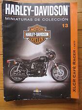 FASCICULE 13 MOTO COLECCION HARLEY DAVIDSON XLCR CAFE RACER 1977