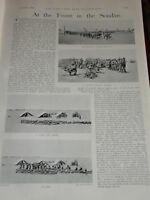 1898 SOUDAN CAMPAIGN SOLDIERS CALL TO ARMS SEAFORTHS &C