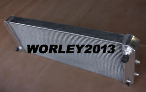 3 rows aluminum radiator for LOTUS Esprit S4 SE S4s V8 GT GT3 1988-2004 manual