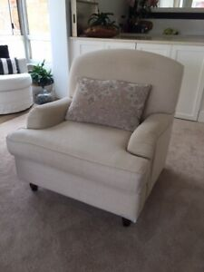 Arm chair /Lounge chair/ occassional chair/ Freedom Beige
