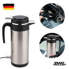 1200ML 12V Edelstahl Elektroauto Wasserkocher Reiseflasche mit Wärmflasche BESTE