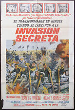 Action Original US One Sheet Film Posters (Pre-1970)