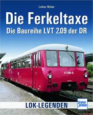 Fachbuch Die Ferkeltaxe, Baureihe LVT 2.09 der DR mit vielen Bildern, NEU