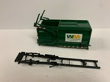 First Gear 1/34 Scale Bed Box and Frame Waste Management for Diecast Truck