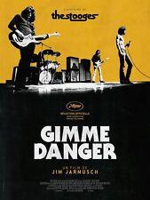 Affiche Pliée 40x60cm GIMME DANGER 2017, Jarmusch - Iggy Pop, the stooges, NEUVE