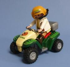 Playmobil Rescue Friction Pull Back Quad Dino Explorer  / Vehicle / Car & Figure