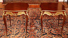 Awesome Pair of Inlaid Louis XV French Style Occasional End Tables