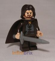 Lego Aragorn Minifigure CUSTOM for Lord of the Rings NEW cus112