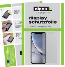 6x Apple iPhone XR Screen Protector Protection Anti Glare dipos
