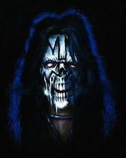 "Kiss-Ace Frehley ""Spaceman"" Zombie Caricature Sticker or Magnet"
