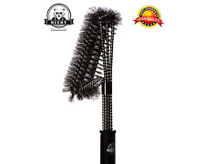 Home Kitchen Heavy Duty Bbq Grill Brush Accessories Gas Charcoal Porcelain Iron