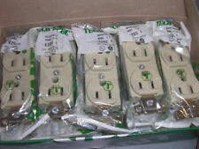 BRYANT 8200-I IVORY RECEPTACLE *NEW IN FACTORY BAG*