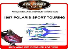 1997 POLARIS SPORT TOURING HOOD DECALS  GRAPHIC STICKER INDY reproduction