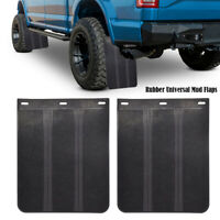 Box Van Luton 53x37cm Lorry Truck RUBBER MUDFLAPS Mud Flap PAIR With Fittings