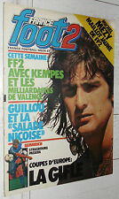 FRANCE FOOT 2 N°25 15/09 1978 BONHOF KEMPES EUROPE NANTES RCS OGC NICE GUILLOU