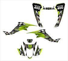 LTZ400 KFX 400 graphics kit for 2003 2004 2005 2006 2007 2008 #2500-MANTA GREEN