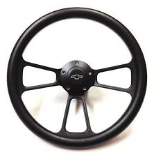 1975 -1980 Chevrolet Monte Carlo Black on Black Steering Wheel & Adapter Kit
