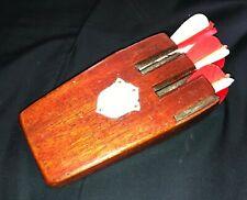 Vintage Darts with wooden case
