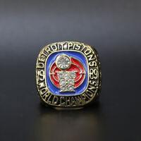 Detroit Pistons Joe Dumars 1989 NBA Championship Ring with Wooden Box