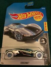 """HOT WHEELS NEW FOR 2017 SUPER CHROMES """"CRESCENDO"""" ~1/10 CARS COLLECTOR #228~~NEW"""