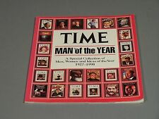 Time Magazine Man of the Year 1927 1990 - A Showcase of Covers and Articles