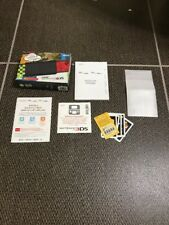 SOLO SCATOLO BOX New Nintendo 3DS Nero [LEGGERE LA DESCRIZIONE]