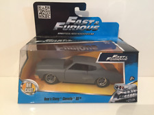 Fast & Furious Doms Chevy Chevelle SS Mat Gris Jada 97379