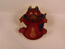 Brass Red Costume Brooches & Pins