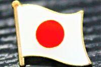 JAPAN Japanese Metal Flag Lapel Pin Badge *NEW*
