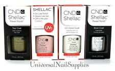 CND Shellac Gel Polish French Manicure Collection + Base & Xpress 5 Top 0.25 oz