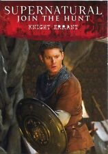 Supernatural Seasons 4-6 Disguises Chase Card D8 Knight Errant