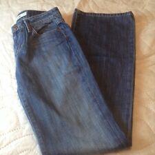 Joe's Jeans Distressed Denim 25 Waist Medium Rise Long Length 33 Inseam